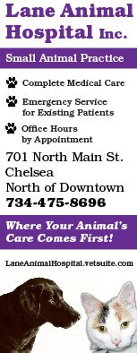 Lane Animal Hospital ad