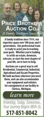Price Brothers Auction House ad