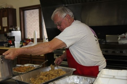 Ken Toney, the chef behind the tasty Christmas lunch at