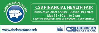 Chelsea State Bank ad